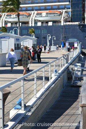 Mallory square cruise dock Key West