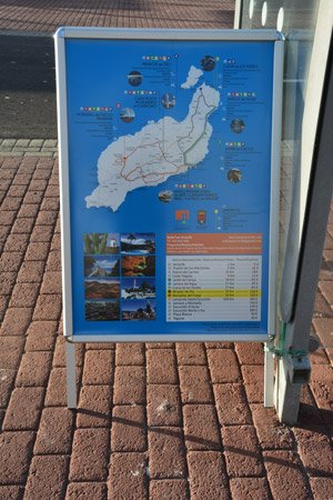 Cruise Lanzarote taxi prices