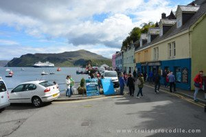 Portree cruise pier