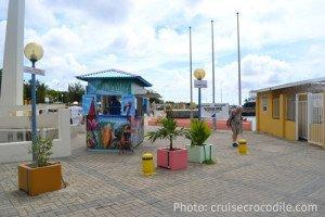 Bonaire cruise pier