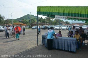 Cruise dock Tourist information Lombok
