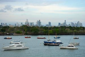 Cruise-Panama-Canal-city-skyline