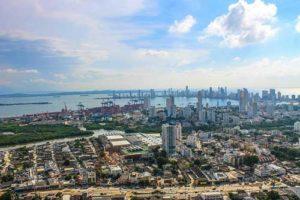 Cruise destination Cartagena