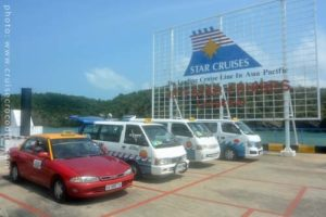 Cruise dock Port Malai Langkawi taxis