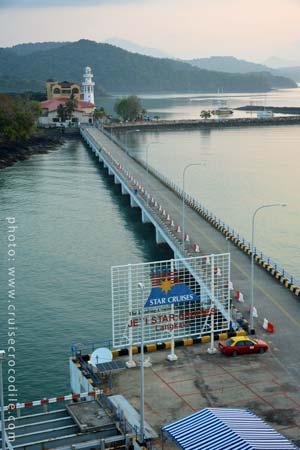 Cruise dock Porto Malai Langkawi
