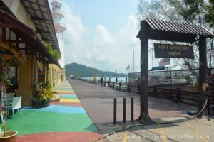 Resort World Langkawi at the cruise dock