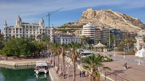 Cruise destination Alicante Spain
