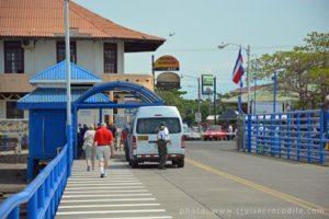 Puntarenas cruise port exit