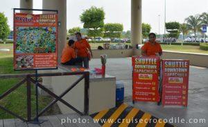 Puerto Chiapas cruise shuttle to Tapachula