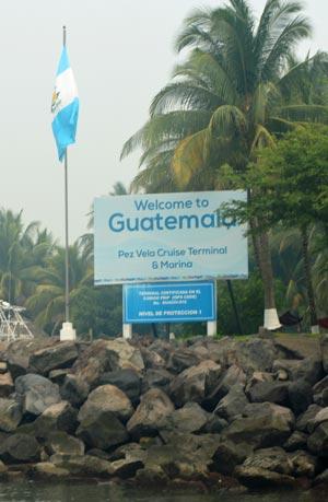 Puerto Quetzal cruise dock