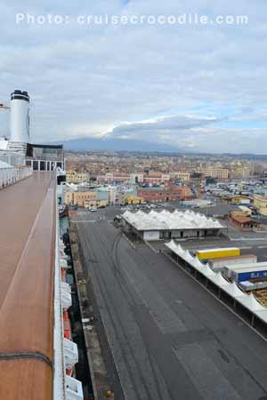 Catania cruise terminal