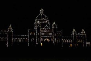 Victoria at night - cruise destination