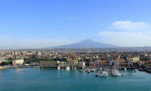 Cruise port Catania and Mt Etna