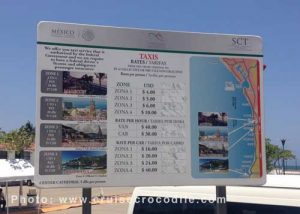 Puerto Vallarta cruise taxi prices
