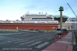 Cruise port guide Le Havre