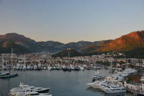 Marmaris cruise port