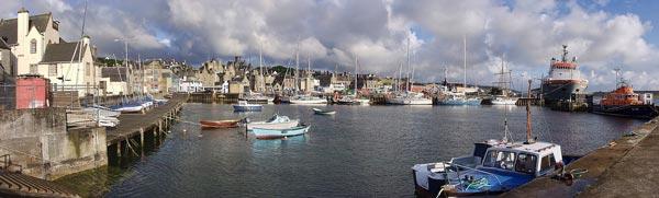 Lerwich cruise port - Shetland Islands