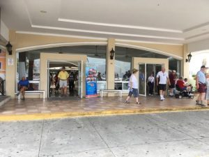 Fuerte Amador cruise terminal