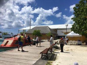 bora bora cruise terminal dock