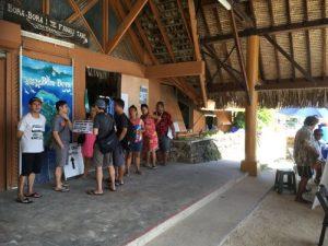 Bora Bora cruise terminal
