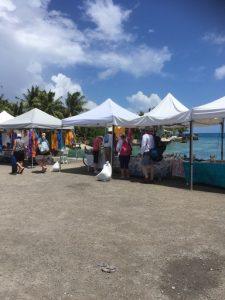 Rangiroa cruise dock market