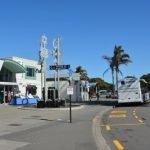 Napier cruise shuttle stop