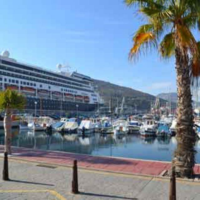 Main cruise dock Cartagena