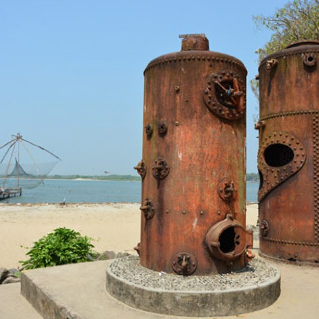 The steam boilers