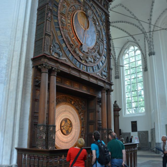 Rostock: astronomical clock