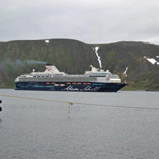 Sailing around North Cape