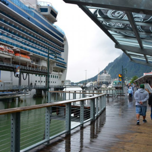 Juneau cruise dock