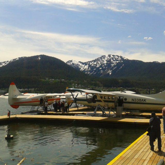 Juneau's float planes
