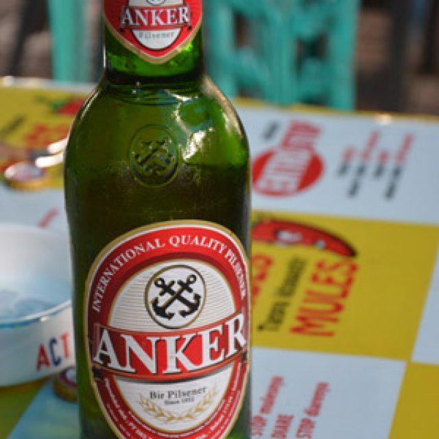 Local beer: Anker