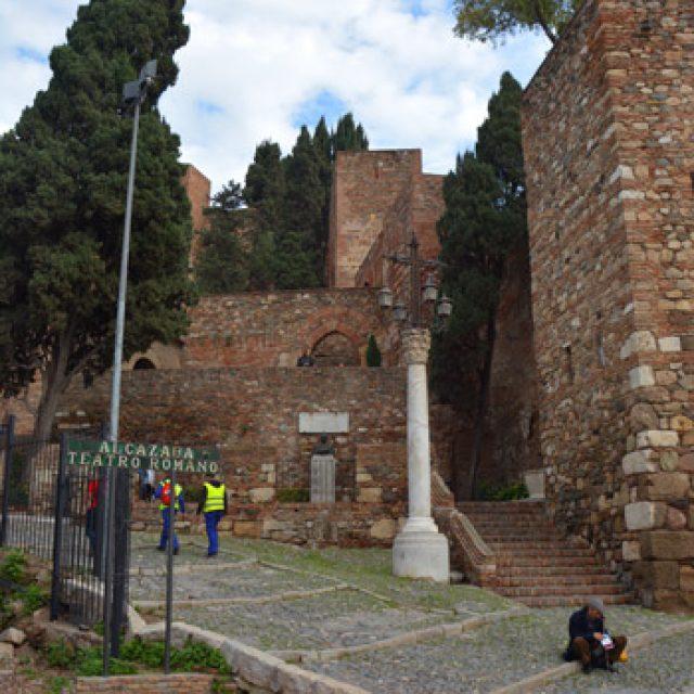 The Alcazaba castle
