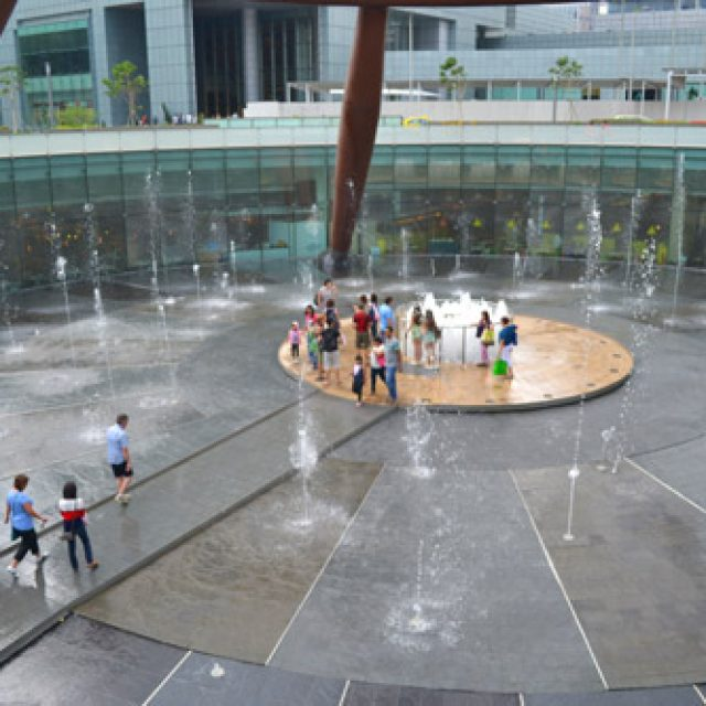 Suntec fountain