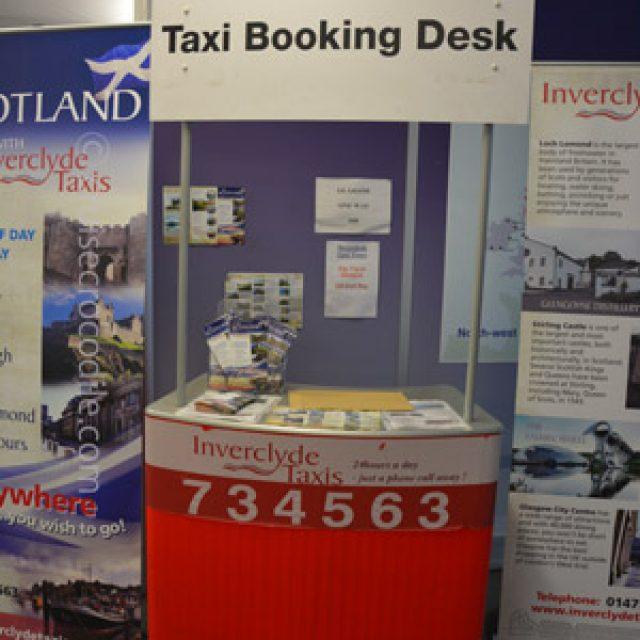 Greenock taxi information desk