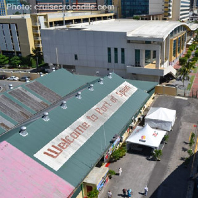 Port of Spain cruise dock