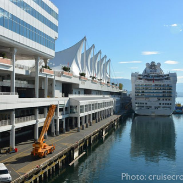 Vancouver cruise dock