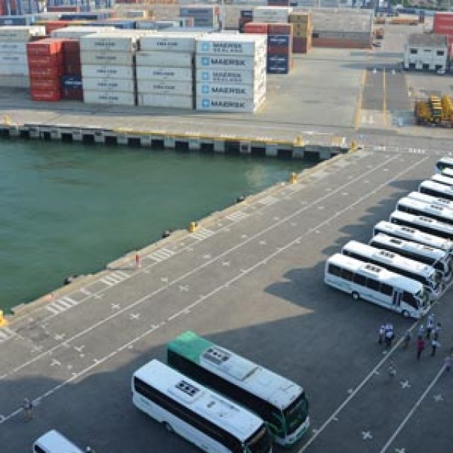 Cartagena Colombia cruise dock