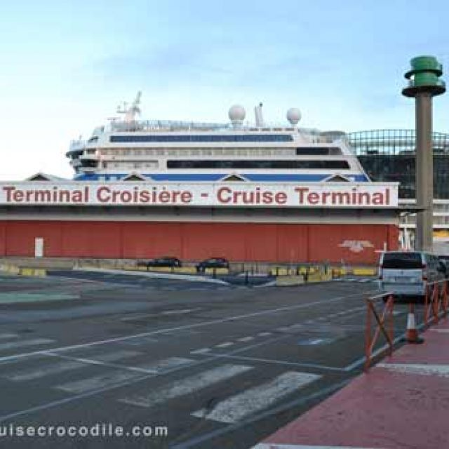 Le Havre cruise dock