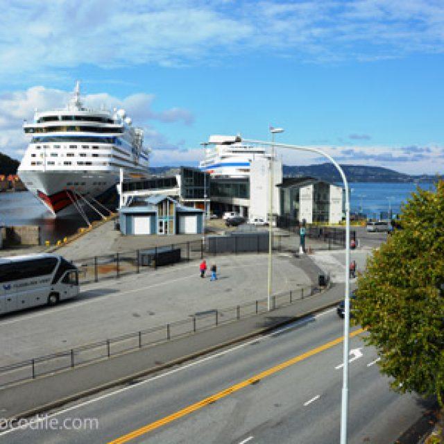 Bergen cruise dock