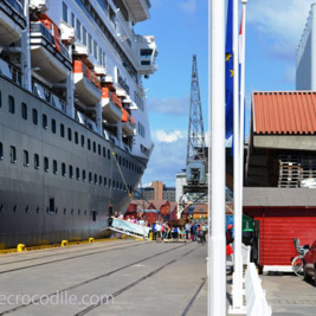Kristiansand cruise dock