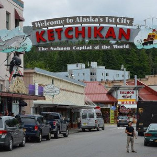 Ketchikan's Welcome Arch