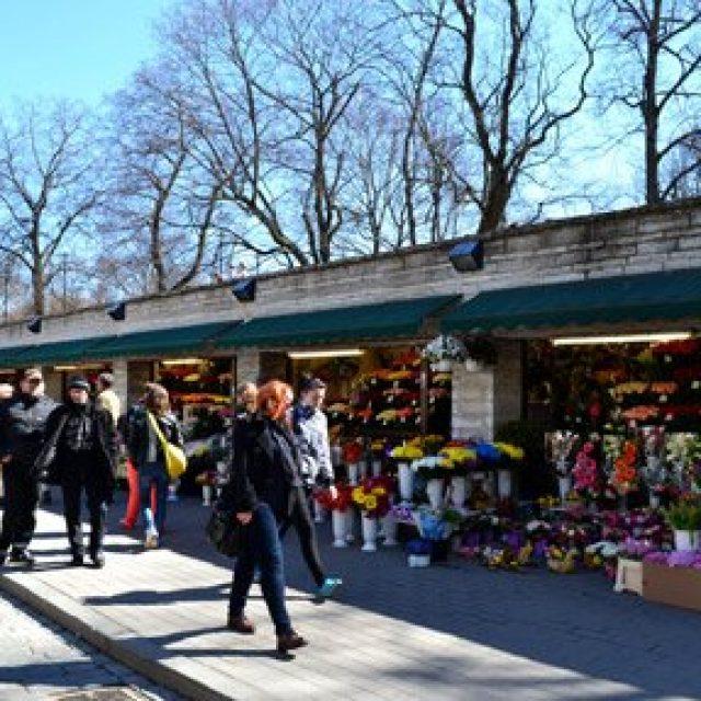 Tallinn's flower market